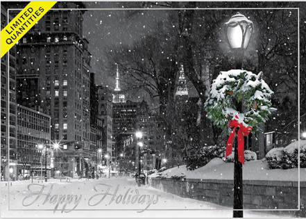 New York Christmas Cards